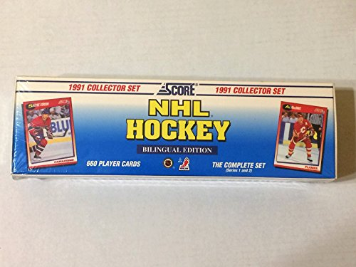 1991 Collector Set - NHL Hockey - Bilingual Edition - Collector (Hockey Card Sets)