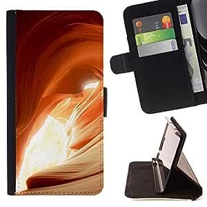 For Samsung Galaxy S5 V SM-G900 Case , Planta Naturaleza Forrest Flor 32- la tarjeta de Crédito Slots PU Funda de cuero Monedero caso cubierta de piel