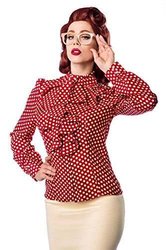 Belsira - Camisas - para mujer Rot/Beige