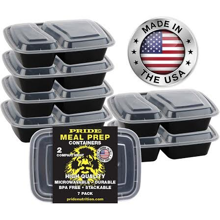 Meal Prep Food Containers Microwaveable product image