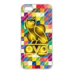 Drake Ovo Owl For iPhone 5, 5S Csae protection Case DHQ615458