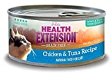 Health Extension Grain Free Grain Free Chicken & Tuna for Cats - 2.8 oz cans (24 cans in a case) Larger Image