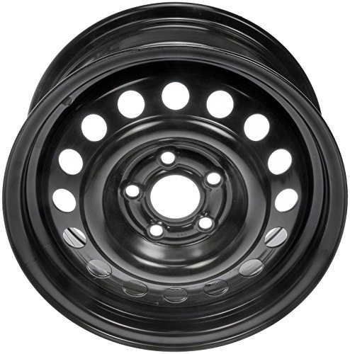 Classic Wheels Rims - Dorman 939-178 Black Wheel with Painted Finish (15 x 6. inches /5 x 114 mm, 41 mm Offset)