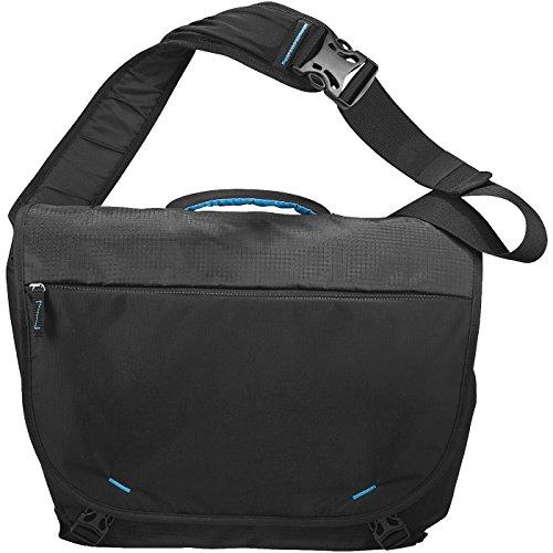 AVENUE - Sling 15,4 Laptop-Kuriertasche - schwarz schwarz