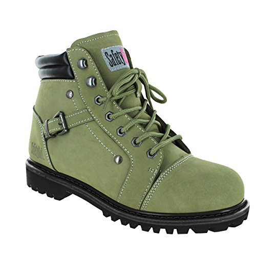 Safety Girl Fusion Work Boot - Moss by Safety Girl