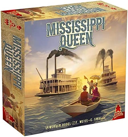 Mississippi Queen Board Game