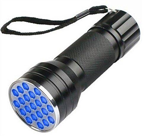 UV Ultra LED Flashlight Violet 21 Mini Blacklight Aluminum Torch Light Lamp Perfect For Camping (Violet The Clown)