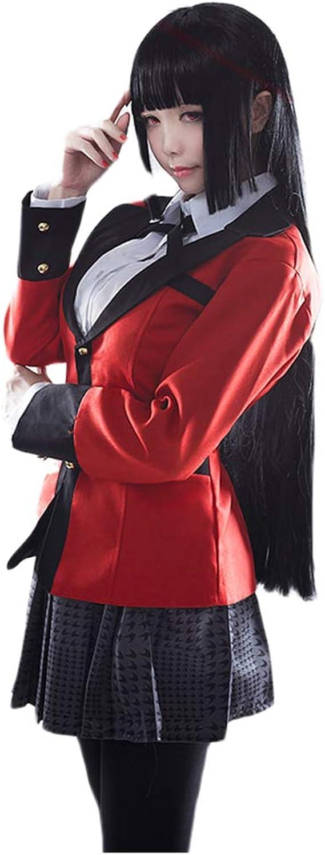 Tinyones Women Jabami Yumeko Costume School Uniform Anime Cosplay Outfits