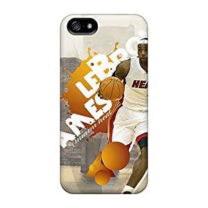 LastMemory Case For Iphone 5C Cover Well-designed Hard Lebron James Protector