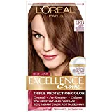 reddish brown hair color - L'Oreal Excellence Creme Triple Protection Hair Color, Light Reddish Brown (Warmer) [6RB] 1 Each