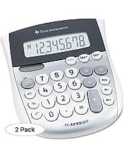 $33 » Texas Instruments TI1795SV TI-1795SV Minidesk Calculator, 8-Digit LCD (Pack 2)