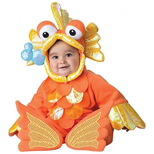 Giggly Goldfish Costume - Infant Medium