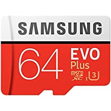 Samsung 100MB/s MicroSD EVO Plus Memory Card with Adapter 64 GB (MB-MC64GA)