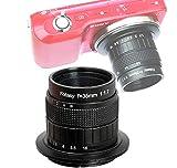 Fotasy 35mm f1.7 Lens for Sony E-Mount Camera, 35mm 1.7 Multi Coated Manual E-mount Lens fits Sony NEX-5R NEX6 NEX7 a3100 a51000 a6000 a6100 a63000 a6400 a6500