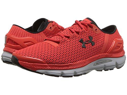 追加犯す自動化[UNDER ARMOUR(アンダーアーマー)] メンズランニングシューズ?スニーカー?靴 UA Speedform Intake 2 Radio Red/Overcast Gray/Black 8.5 (26.5cm) D - Medium