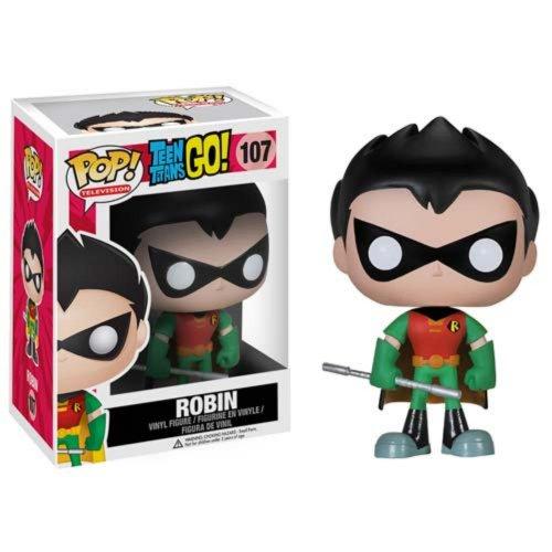 Funko Pop TV Teen Titans GO 28678 Robin Action- & Spielfiguren