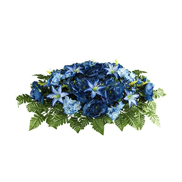 Rubys-Silk-Flowers-Dark-Blue-Peony-Lily-and-Hydrangea-Mix-SD2012