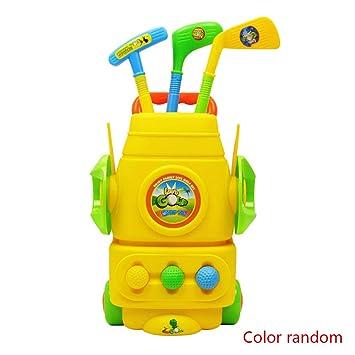 Nowear Juguetes para niños color al azar Mini golf sistema ...