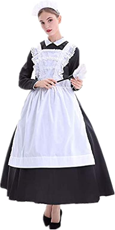 Halloween Farm Maid Maid Maid Ropa de Chef Farm Manor Escenario de ...