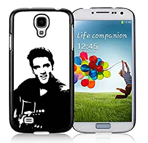 Beautiful And Durable Designed Case For Samsung Galaxy S4 I9500 i337 M919 i545 r970 l720 With Elvis Presley Black Phone Case