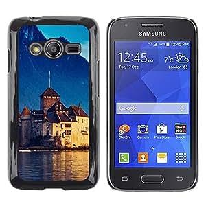 TopCaseStore / la caja del caucho duro de la cubierta de protección de la piel - Nature Beautiful Forrest Green 96 - Samsung Galaxy Ace 4 G313 SM-G313F