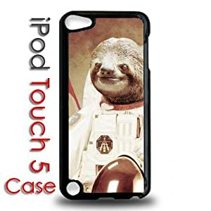 IPod 5 Touch Black Plastic Case - Dolla Dolla Bill Sloth Astronaut Hipster Trend