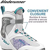 hockey ice skates size 8 - Bladerunner Ice by Rollerblade Zephyr Men's Adult Ice Skates, Black and Blue, Recreational, Ice Skates, US Size 8