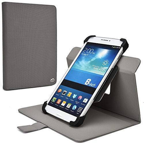 Davy's Grey Rotating Case Fits Sony Xperia Z3 Tablet Comp...