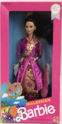 Malaysian Barbie Dolls World Collection