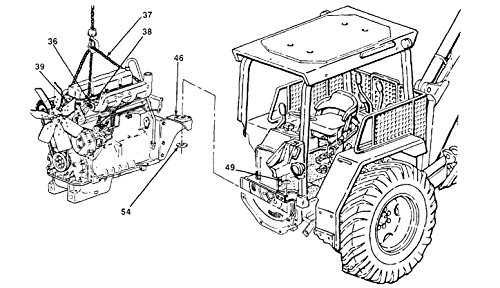 INTENANCE MANUALS FOR TRACTOR, WHEELED, DED, LOADER BACKHOE: WITH HYDRAULIC IMPACT TOOL AND WITH HYDRAULIC EARTH AUGER ATTACHMENT JOHN DEERE MODEL JD410 ()