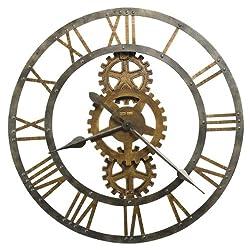 Crosby Wall Clock in Warm Gray Iron