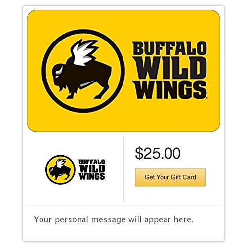 Buffalo Wild Wings Email Gift Card (Best Wing Sauce At Buffalo Wild Wings)
