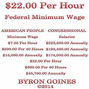 $22.00 Per Hour Federal Minimum Wage Audiobook