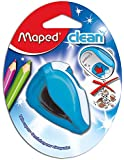 Maped Clean Sharpener, 2-Hole Pencil Sharpener, Assorted Colors (030249)