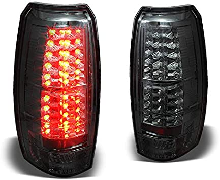 07-13 Chevy Avalanche LS LT LTZ Pickup Red LED Tail Lights w// LED Reverse