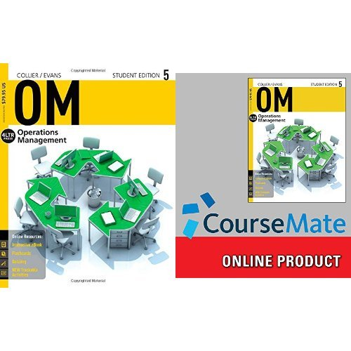 Bundle: Management, 12th + OM 5 (with CourseMate, 1 term (6 months) Access Code)