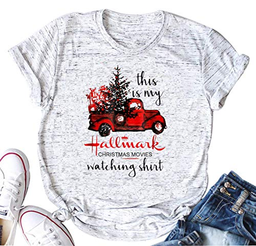 This is My Hallmark Christmas Movie Watching Shirt Women's Funny Holiday T-Shirt (XX-Large) ()