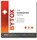 Bytox The Hangover Patch with 12 Organic All Natural Vitamins, 5 Pack (5 Patches)