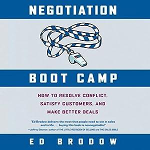 Negotiation Boot Camp Audiobook