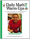 Best Carson-Dellosa Ever Books - Daily Math Warm-Ups, Grade 5: 180 Lessons Review