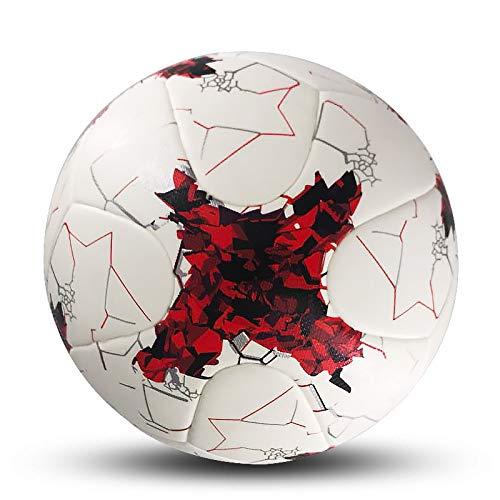 aolongwl Balón de fútbol Balón De Fútbol Tamaño Oficial 5 Balón De Fútbol PU Antideslizante Equipo De Fútbol De…