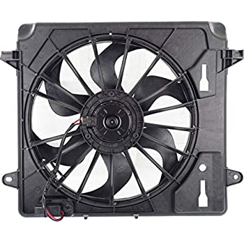 Amazon Com New Radiator Fan Assembly For 2007 2011 Jeep