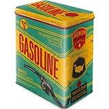 Nostalgic Art 40361133012 Scatola L Gasoline, Acciaio, Multicolore, 14 x 10 x 20 cm