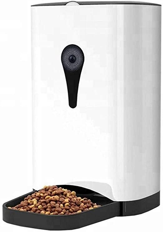 Alimentador Automático De Mascotas WiFi Dispensador Inteligente De ...