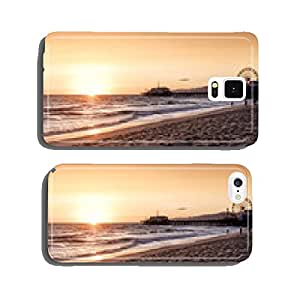 santa monica beach, Los Angeles, California cell phone cover case Samsung S6