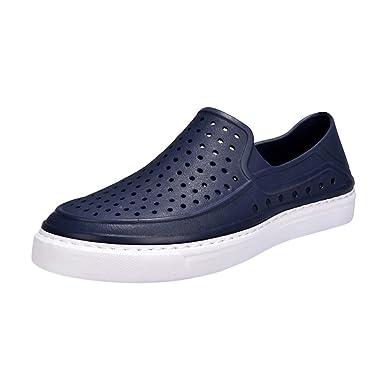 Flipflop Botines,YiYLunneo Zapatos Hombre Unisex Ahueca hacia Fuera Casual Sandalias Sandalia De Playa Pareja Chancletas Zapatillas Flip Flops: Amazon.es: ...