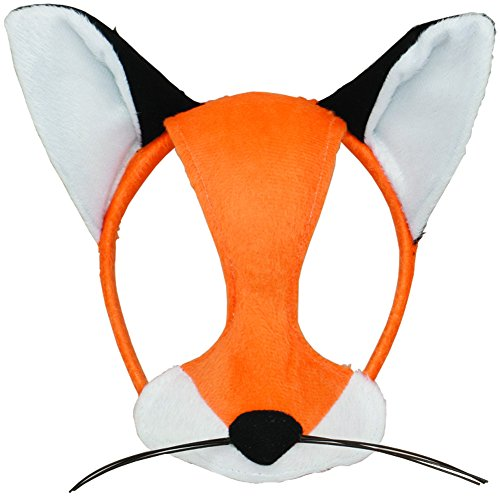[Jacobson Hat Company Child's Plush Fox Mask] (Fox Hat Costume)