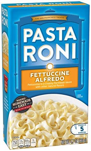 - Pasta Roni Fettuccine Alfredo, 4.7 oz