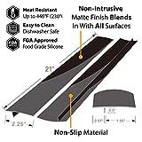 Stove Counter Gap Cover, Kitchen Silicone Oven Gap