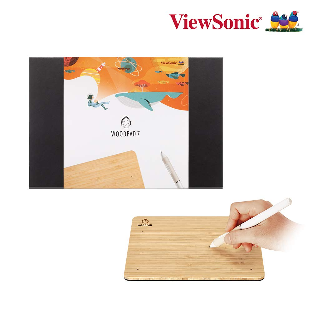 Tableta Digitalizadora VIEWSONIC WOODPAD 20.1x17.5cm 4096 NP